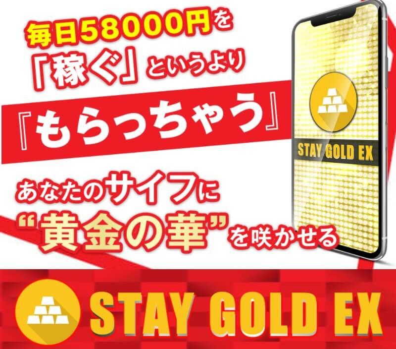 【安藤美和】STAY GOLD EX(ステイゴールドイーエックス)は悪質か!毎日58000円の内容を徹底調査へ